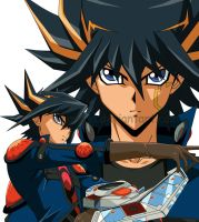 Yusei Fudo by KiaCookie