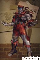 SFTK PC M. Bison Alt Costume backport from xbox360 by moddah