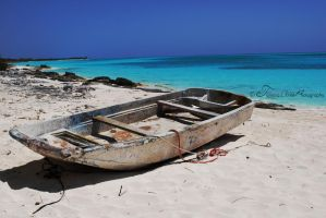 Pa's Ole Dinghy by beari