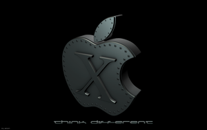 Apple-Think by At0mArt