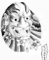 asian mask2 by graynd