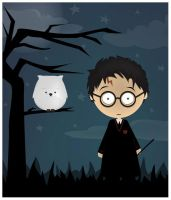Harry Potter by ysellyra