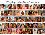 Timeline of Playboy Playmates by bsandberg22