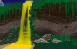 Golden Falls by blackw1nd2012