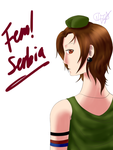 [Request] Fem!Serbia by NayKiler