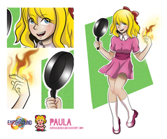 Earthbound: Paula by AeraAlbunea