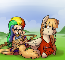 Playing Around Live-Request by professor-ponyarity