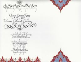 Wedding Invitations by Merwenna