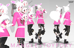 {MMDxFnaF2} Mangle + Toy Foxy [COMPLETE] by Tamachee-Insanity