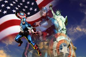 MvC Captain America by ighor5