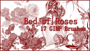 GIMP Bed of Roses by Illyera