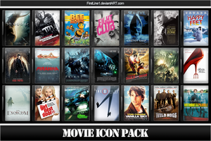 Movie Icon Pack 27 by FirstLine1