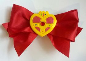 Sailor Moon Cosmic Compact Hair Clip by sakkysa