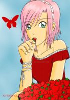 Sweet Strawberry by Xx-SaSa-xX