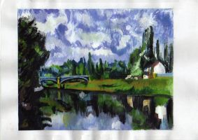 Reproduction Paul Cezanne by Mimn