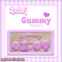 Reloj Gummy Blueberry *w* by marusitaneko