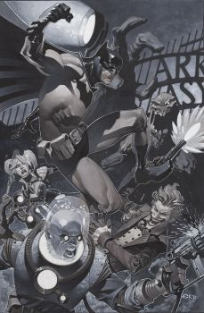 Batman Arkham trouble by ChristopherStevens