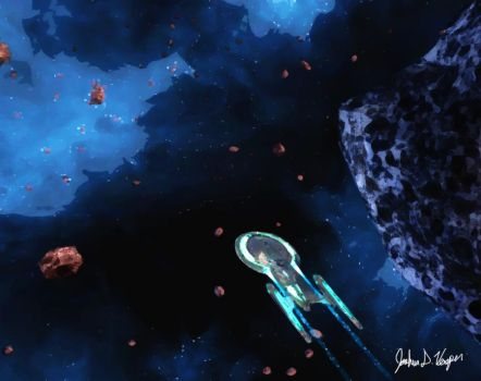 The Asteroid Field by Jackcrow