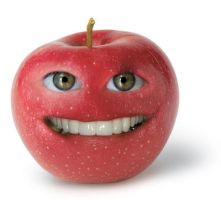 Apple face by AlexClearyLogos