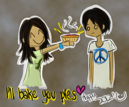 I'll Bake You Pies... Happy 2012! by execuse