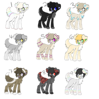 .:Puppy Adopts:. {Closed} by Flovvers