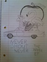 never shout never yippee ep by BunnyWithLasers