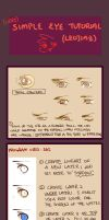 Eye Tutorial by leojiaz