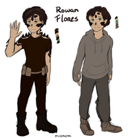 X-Men Ref sheet: Rowan Flores by Midoromi