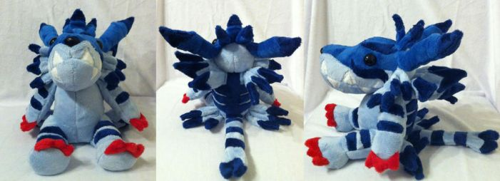 Garurumon Plushie Compilation by The-Night-Craft