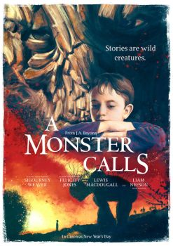 A Monster Calls movie poster by IgnacioRC