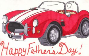 AC Cobra for Father's Day by Audriana