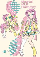 Magical mlp Fluttershy (Design Test) by skyshek