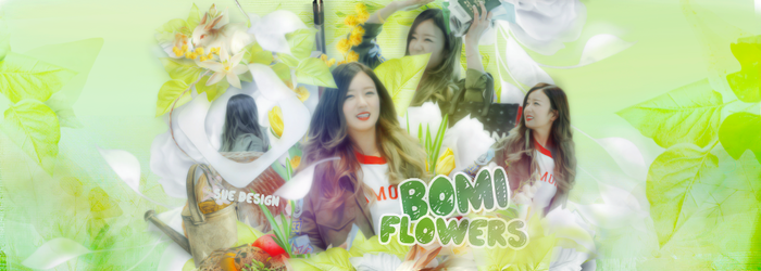 [PSD Scrap] 130615 - Bomi (Apink) by SueDesigner