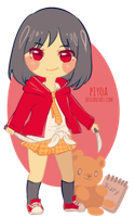 Chibi for Gredellelle by piyoa