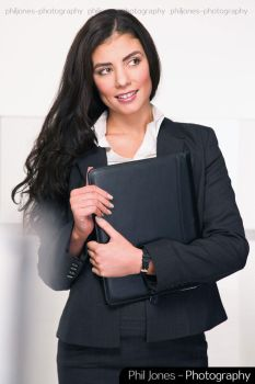 Corporate Businesswoman by PhilJonesPhotography