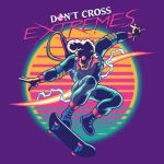 Don't Cross Extremes by shokxone-studios