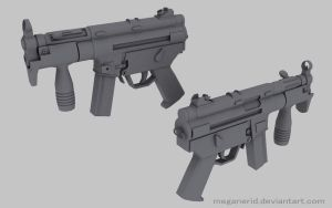 HK MP5 K by MeganeRid