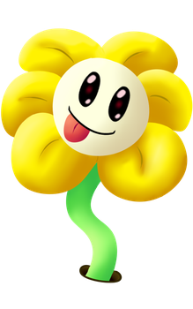 Flowey by Dr-Papa