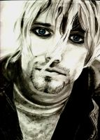 Kurt Cobain by MoonDancE