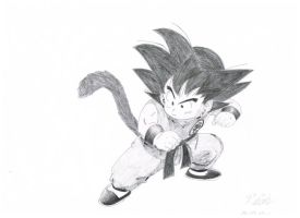 Kid Goku by Vegetto90