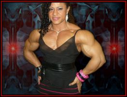 Thick Muscle Babe by Paddy86