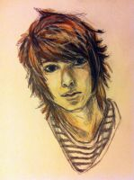 Christopher Drew/Never Shout Never by mel0mania