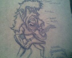 james hetfield cartoon by BrAnDoNAxLMeTaLLiCa