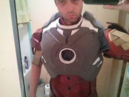 Iron Man MK 4 New chest and back by Kolin-Roberts