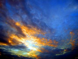 Oct Sky over North Florida III by Heidipickels