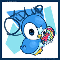 Piplup : Lollipop Love by xLavenderKisses