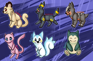 .:RQ:. Pokemon by oOCupcakeOo