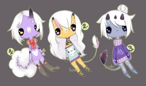 POINTS/CASH white hair adopts by Bonelo
