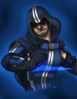 The Biotic Assassin by Eji