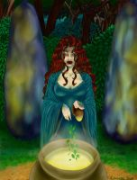 Bruja del Bosque by Alsheeny